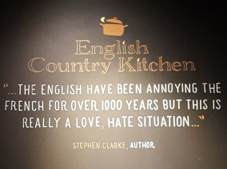 English Country Kitchen cafe Bordeaux France