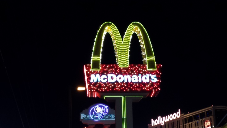Las Vegas McDonald's sign