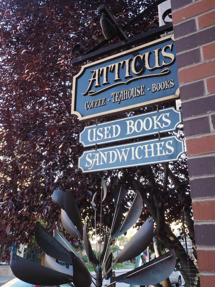 Atticus coffee teahouse and bookstore in Park City Utah