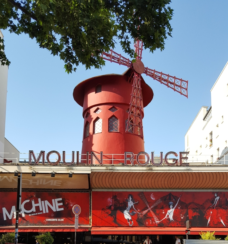 Moulin Rouge in Paris France