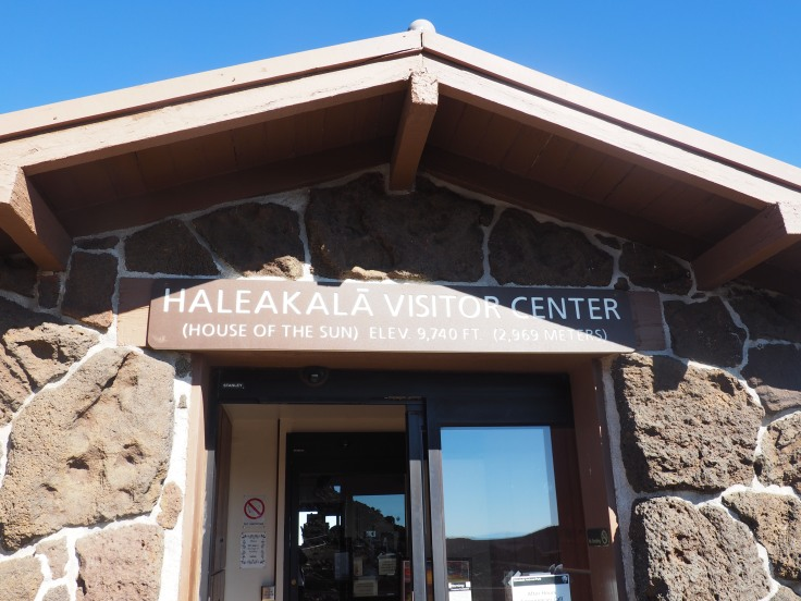 Haleakala Visitor Center House of the Rising Sun in Maui