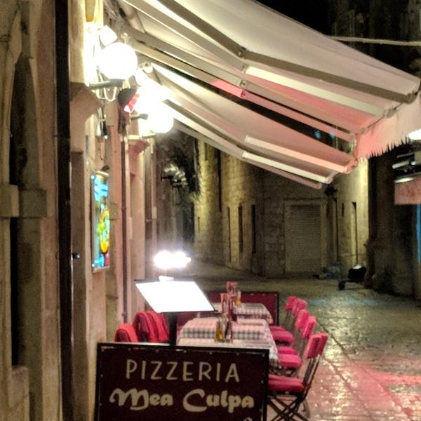 Pizzaria Mea Culpa Dubrovnik