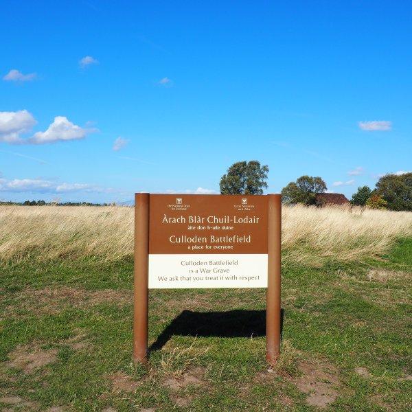 Culloden Battlefield, Culloden Moor Scotland